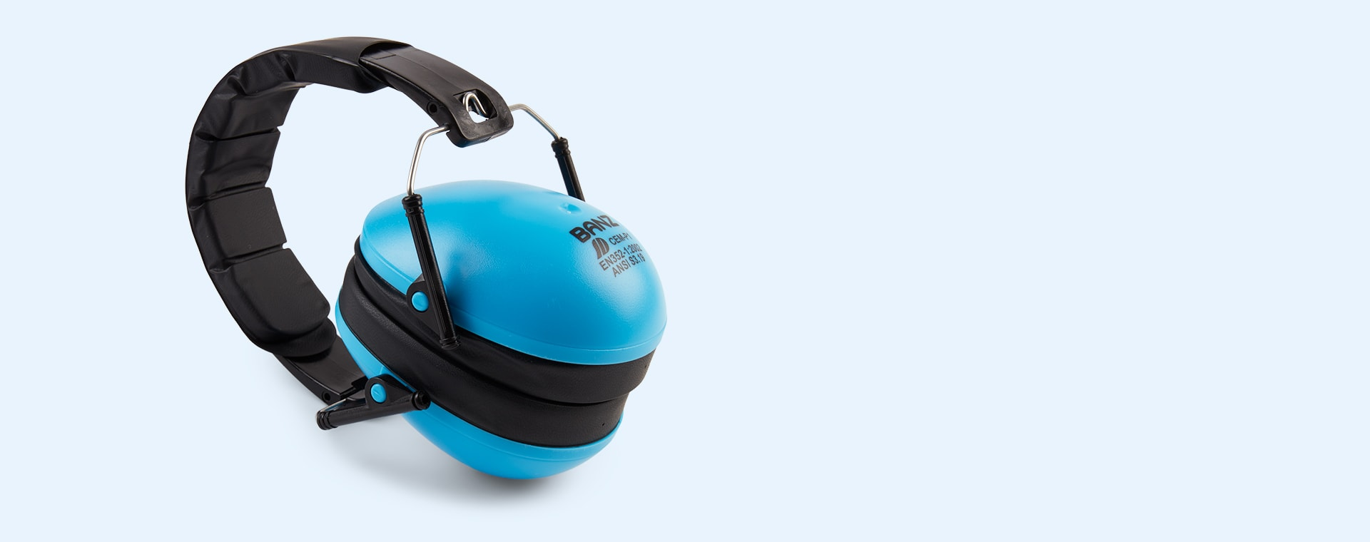 Sky Blue Banz Kidz Ear Defenders