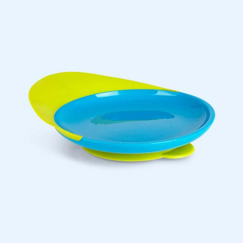 Blue Green Boon Catch Plate