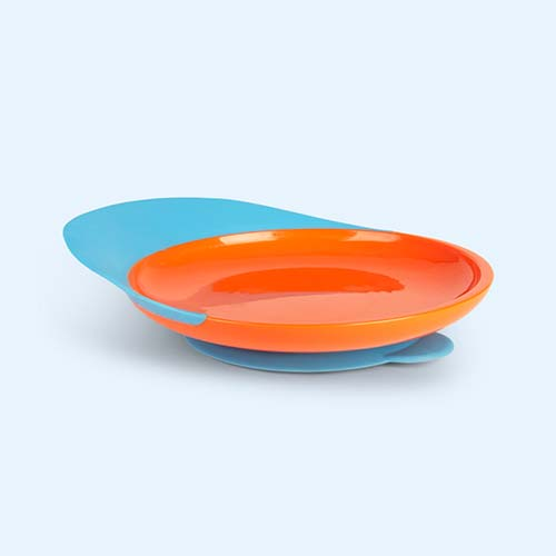 Orange Blue Boon Catch Plate