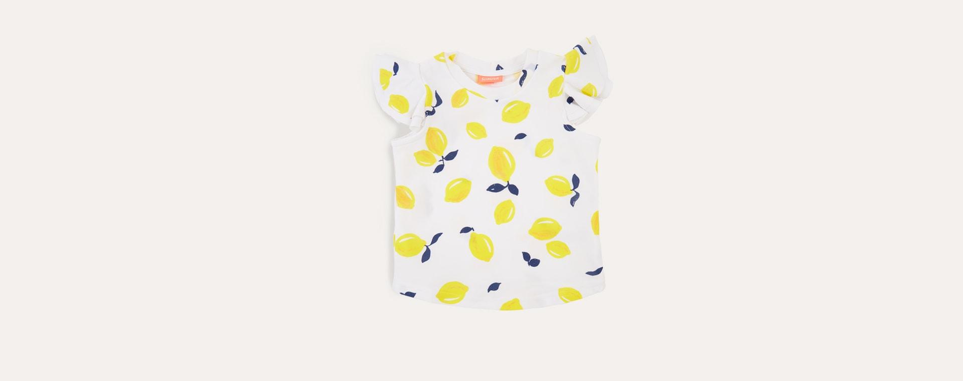 Yellow Sunuva Girls Sicilian Rash Vest