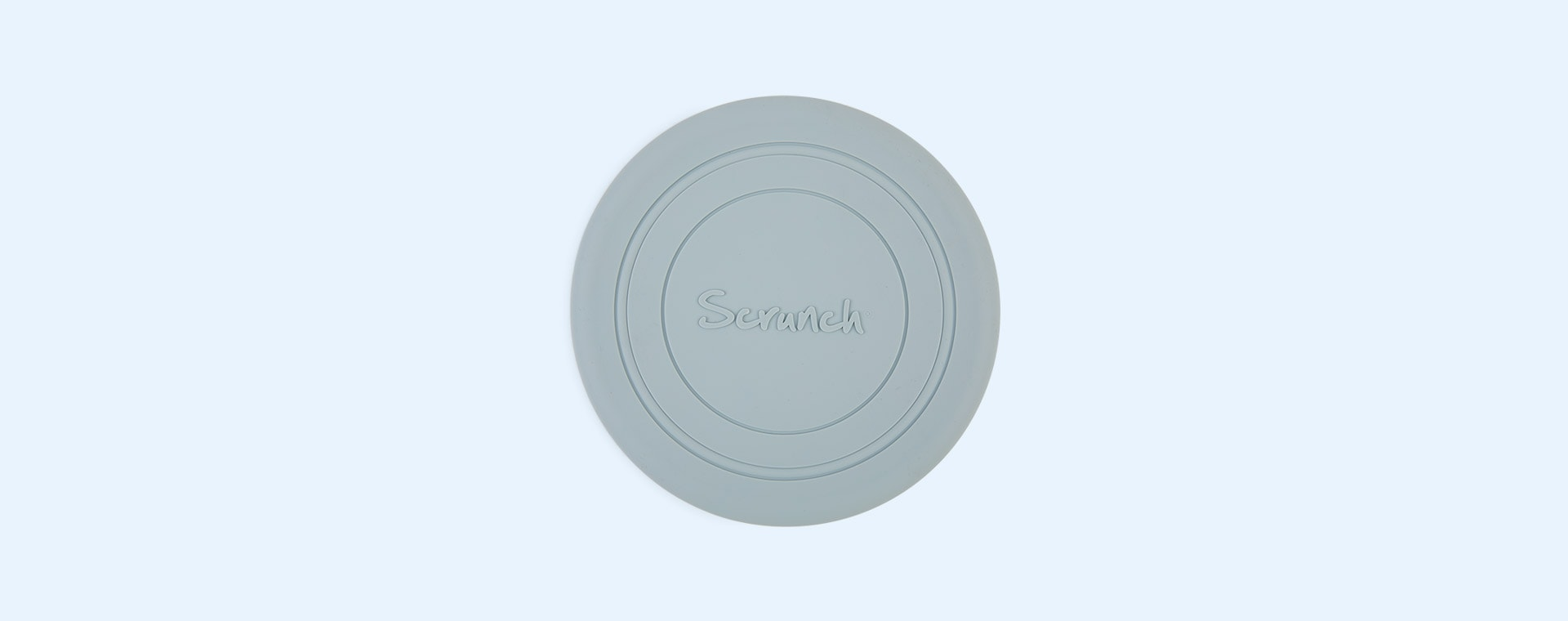 Duck Egg Blue Scrunch Scrunch Collapsible Frisbee