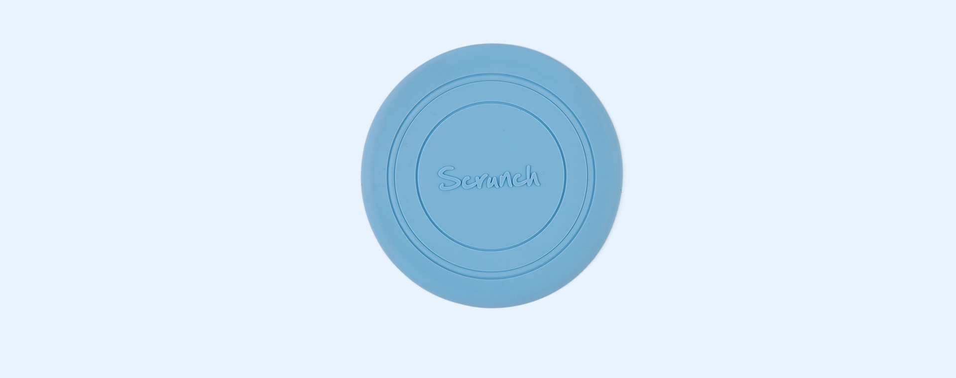 Twilight Blue Scrunch Scrunch Collapsible Frisbee