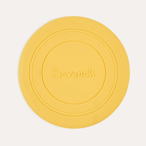 Buttercup Yellow Scrunch Scrunch Collapsible Frisbee