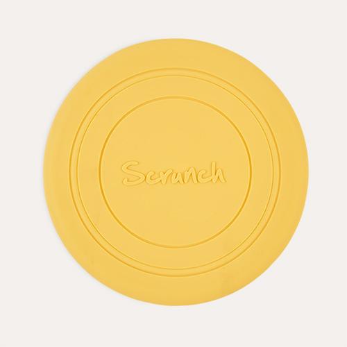 Buttercup Yellow Scrunch Scrunch Collapsible Frisbee