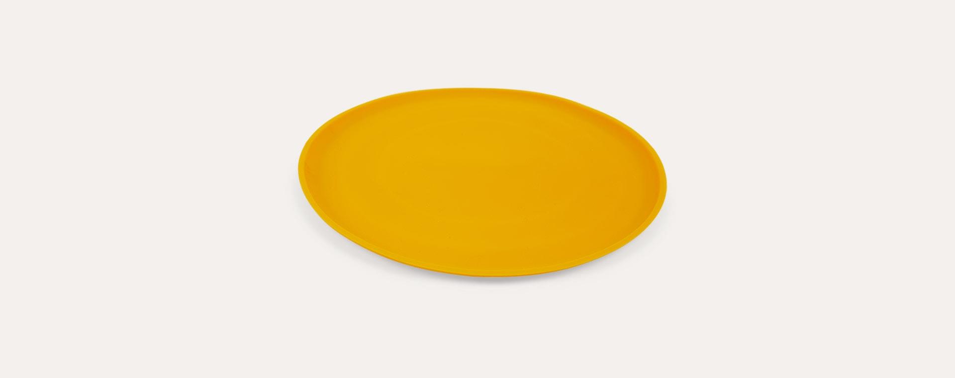 Mustard Scrunch Scrunch Collapsible Frisbee