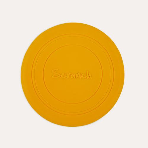 Mustard Scrunch Scrunch Collapsible Frisbee