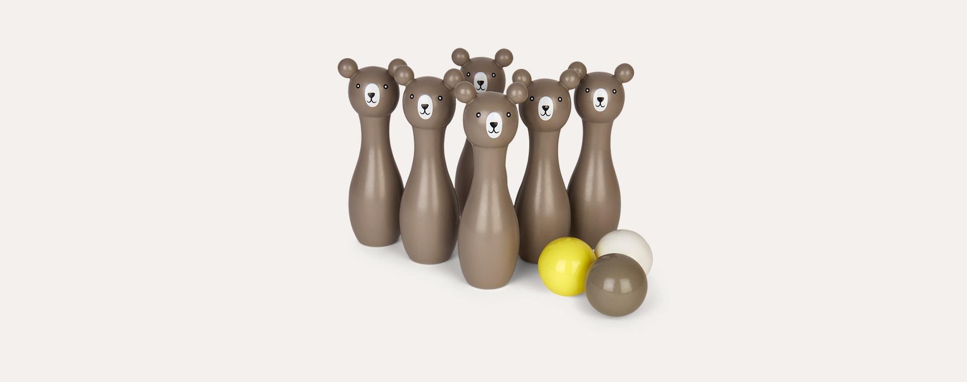 Grey Bloomingville Bowling Play set