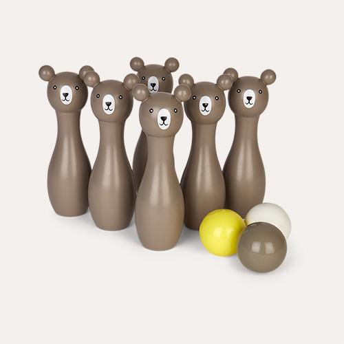 Grey Bloomingville Bowling Play set