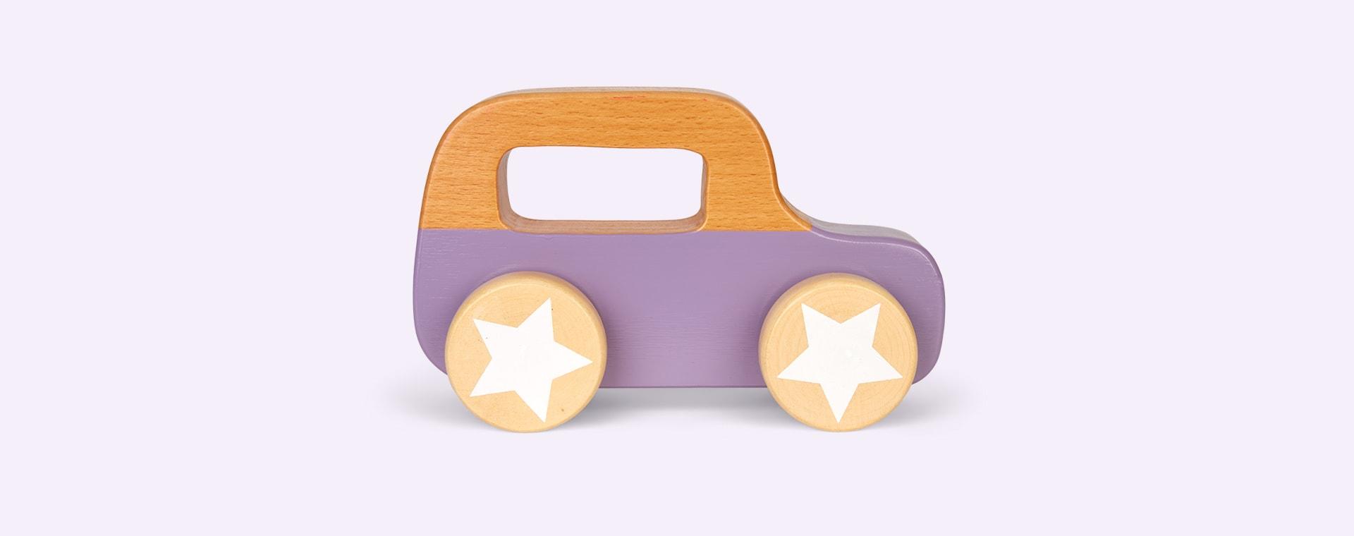 Purple Bloomingville Wooden Car