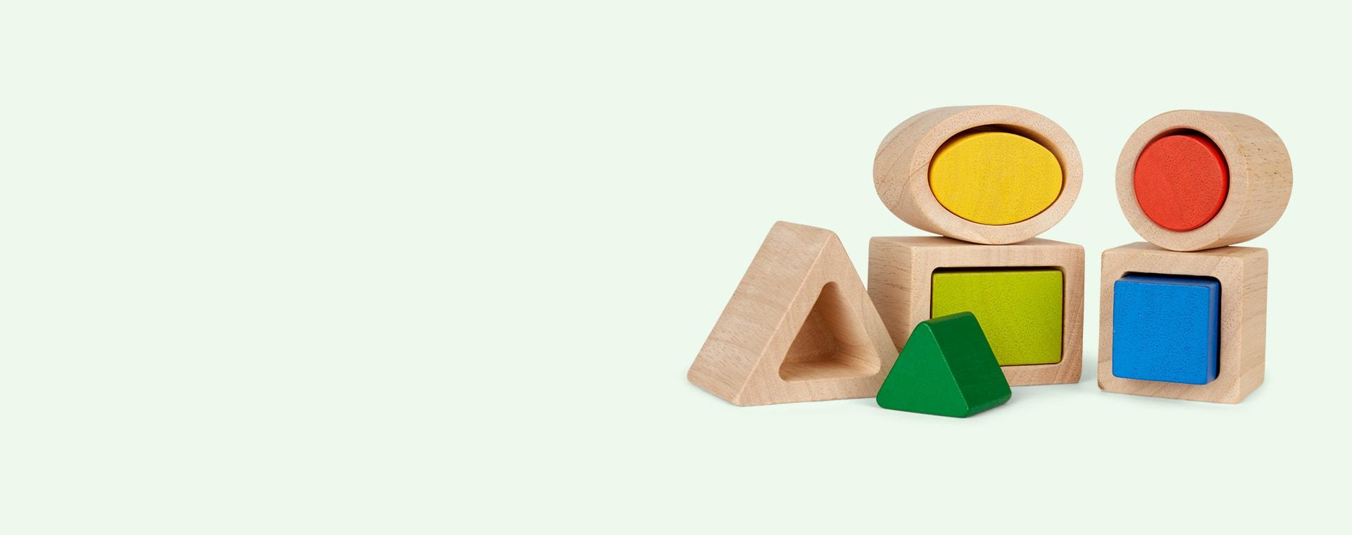 Multi Plan Toys Geo Matching Boxes
