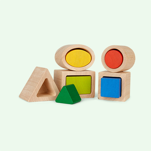 Multi Plan Toys Geo Matching Boxes