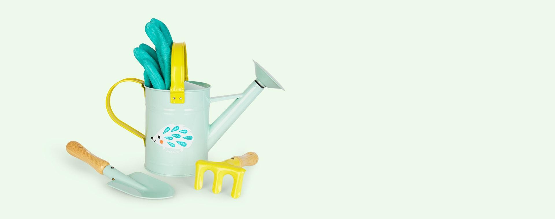 Turquoise Janod Little Gardener Playset
