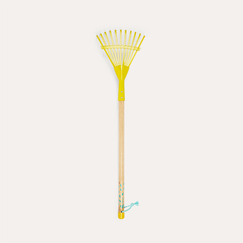 Yellow Janod Large Leaf Rake
