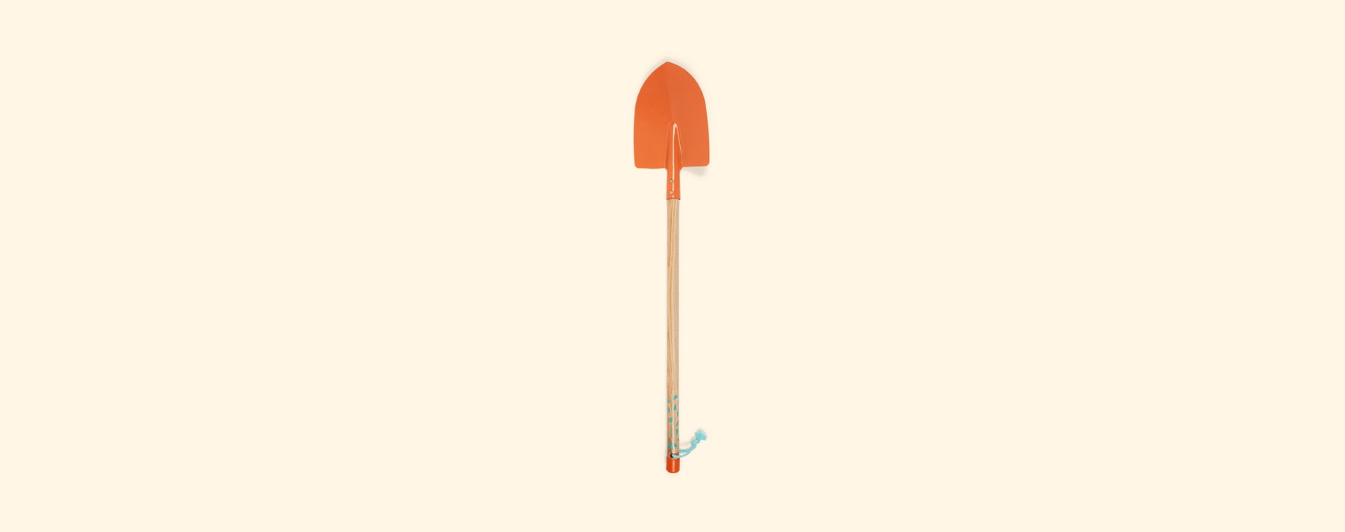 Orange Janod Large Spade