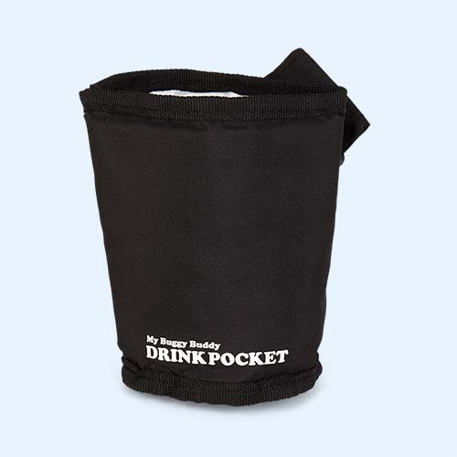 Black My Buggy Buddy Drink Holder