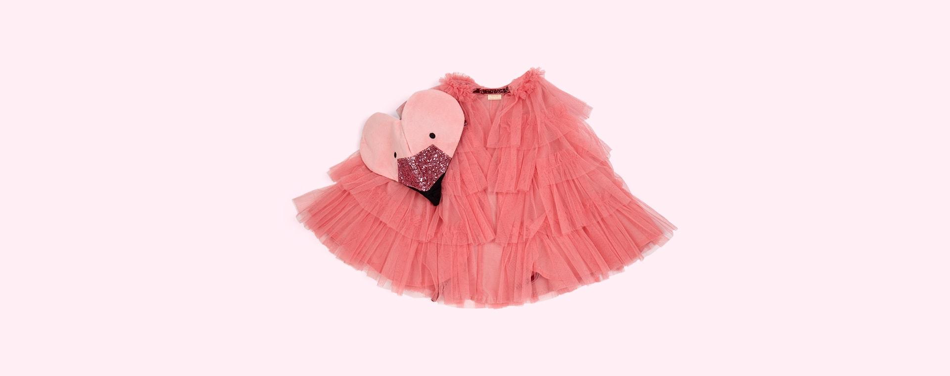 Pink Meri Meri Flamingo Cape Dress Up