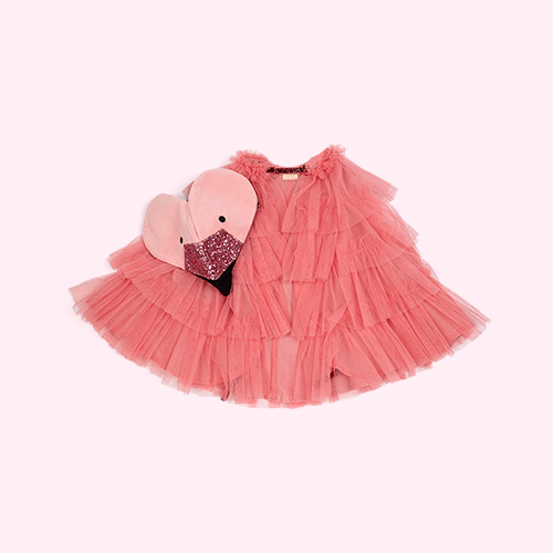 Pink Meri Meri Flamingo Cape Dress Up