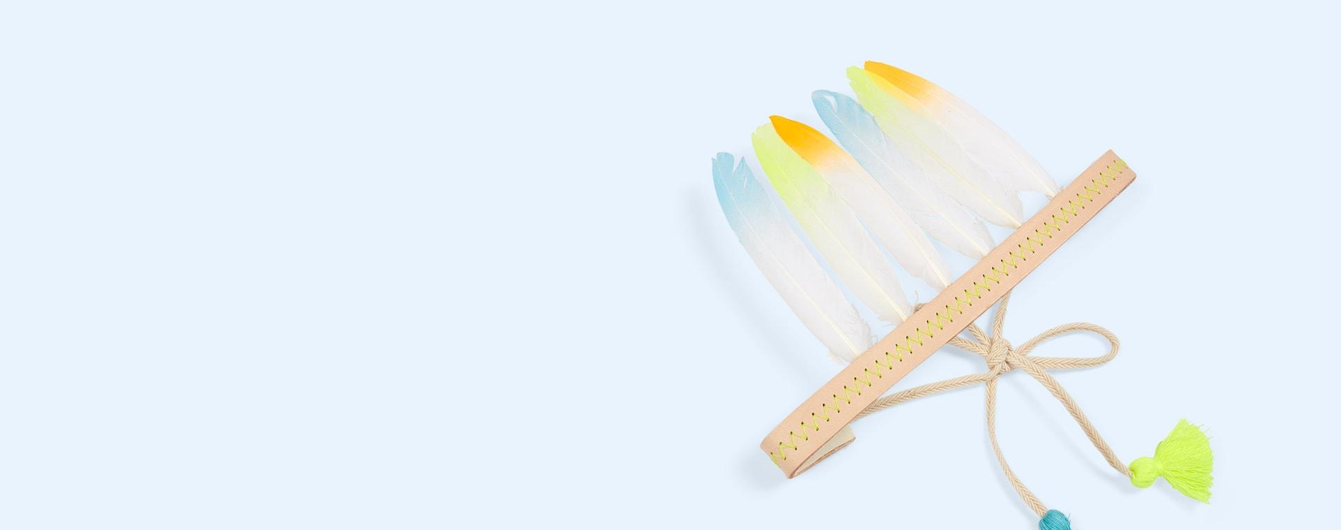 Multi Meri Meri Feather Headdress