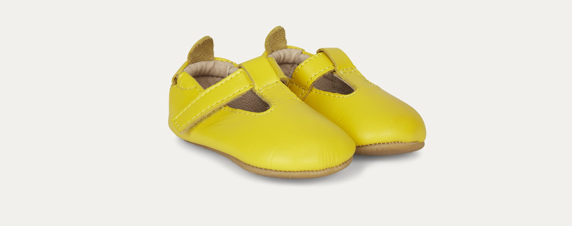 Sunflower old soles Omhe- Bub Soft Sole Shoe