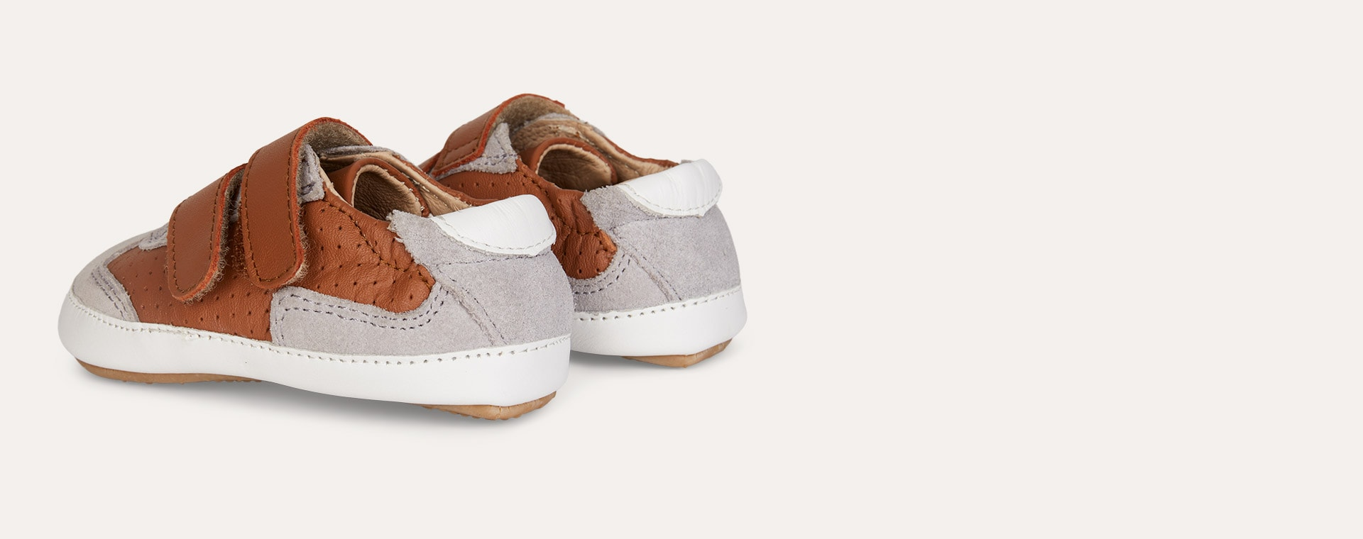 Tan old soles AW'19 Revival Baby Soft sole shoe