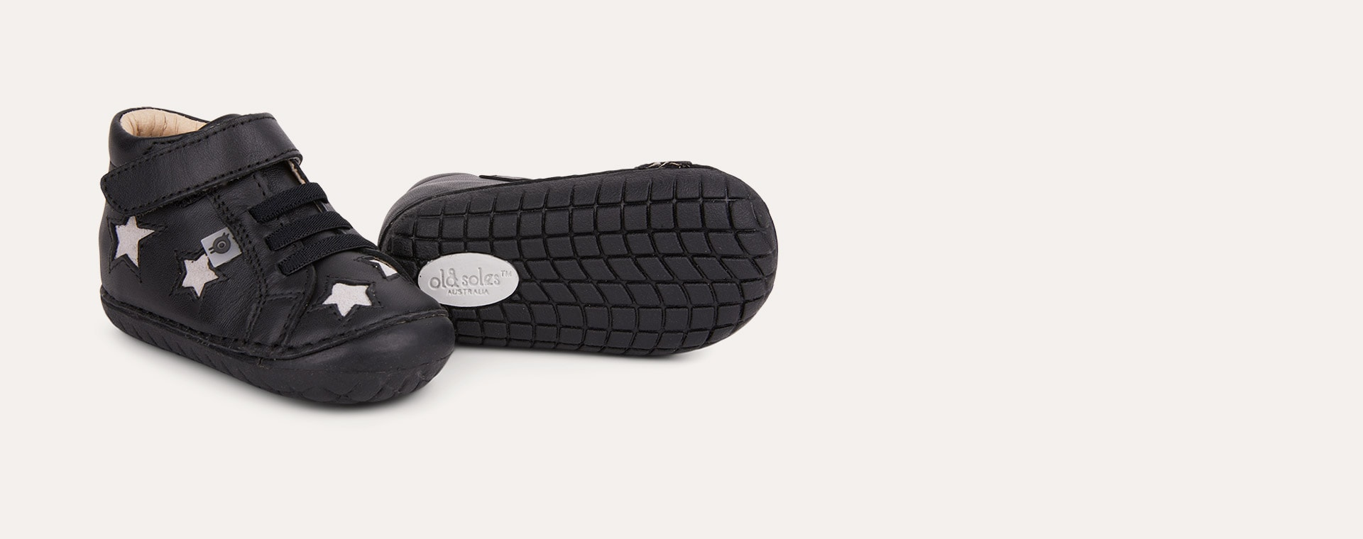 Black / Grey Suede old soles Reach Pave First Shoe