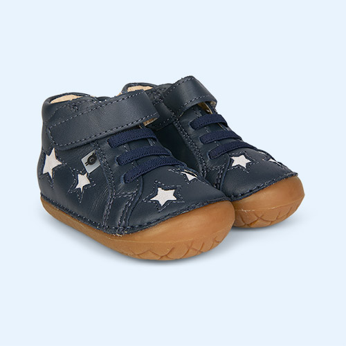 Navy/Grey Suede old soles Reach Pave First Shoe