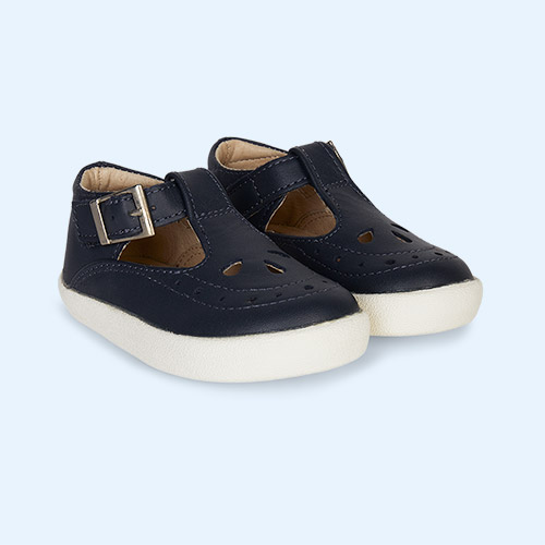 Navy old soles Royal Shoe