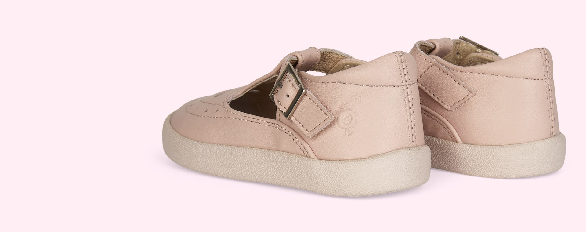 Powder Pink old soles Royal Shoe
