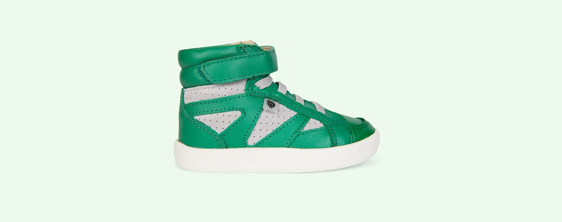 Green/Grey old soles New Leader High Top Trainer