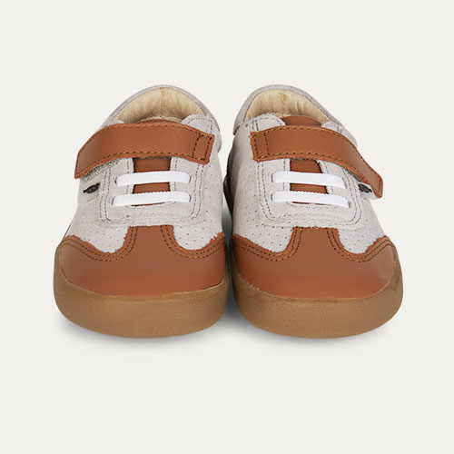 Tan old soles Leezy Trainer Shoe