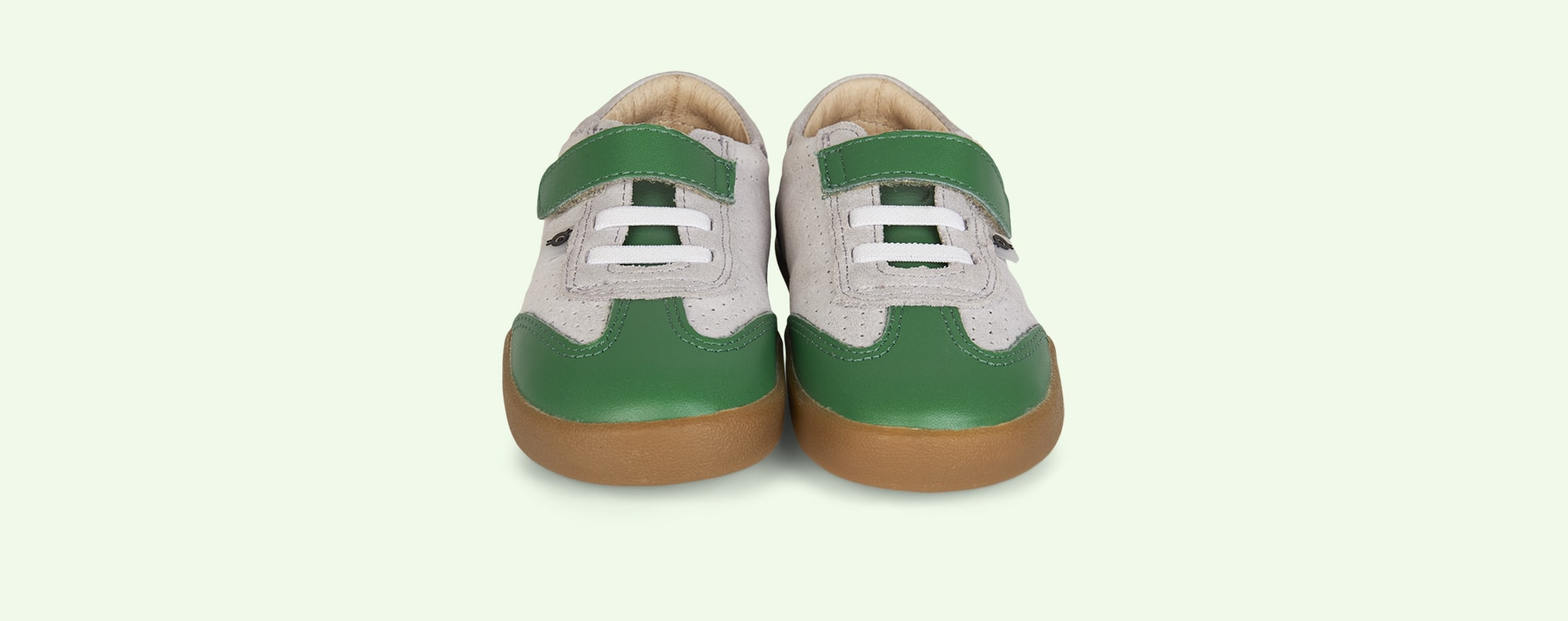 Green old soles Leezy Trainer Shoe