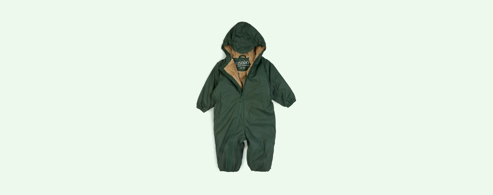 Forest Green GOSOAKY Roger Rabbit Waterproof Unisex Onesie