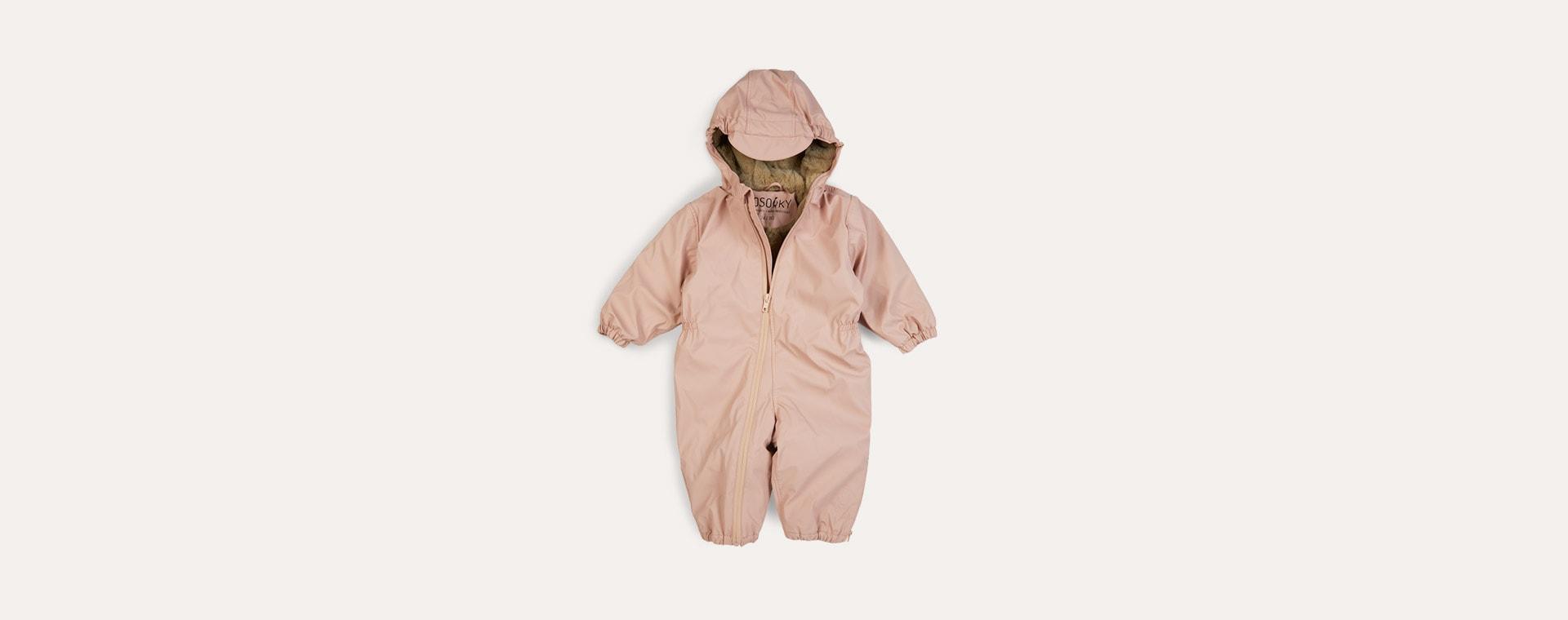 Evening Pink GOSOAKY Roger Rabbit Waterproof Unisex Onesie