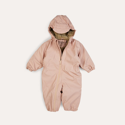 Evening Pink GOSOAKY Roger Rabbit Waterproof Unisex Onesie