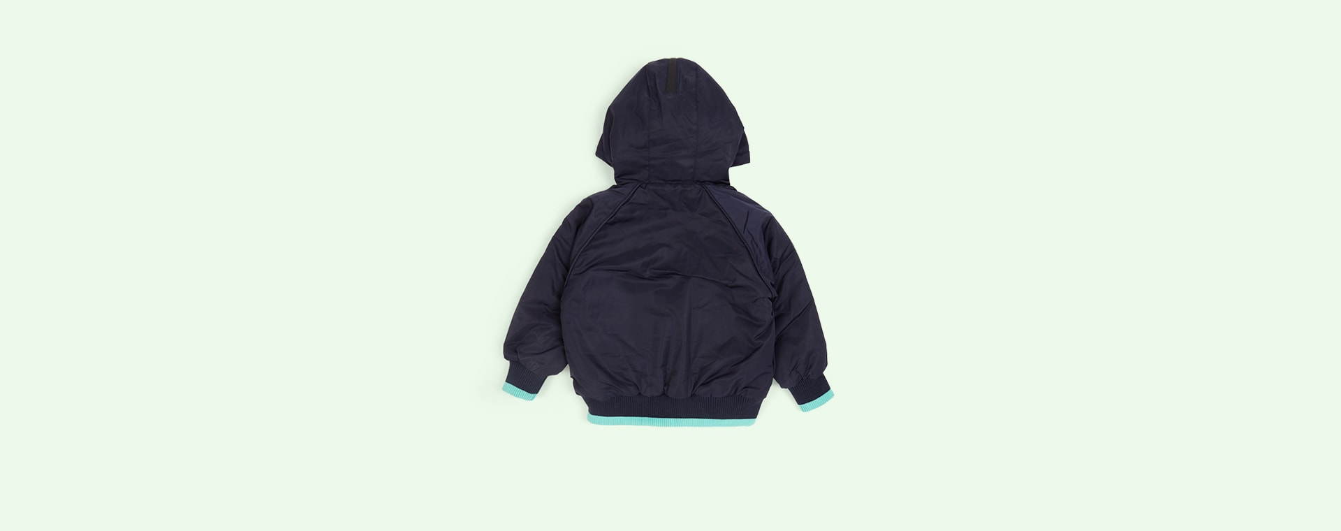 Indigo/Mint GOSOAKY The Grey Fox Puffer Jacket