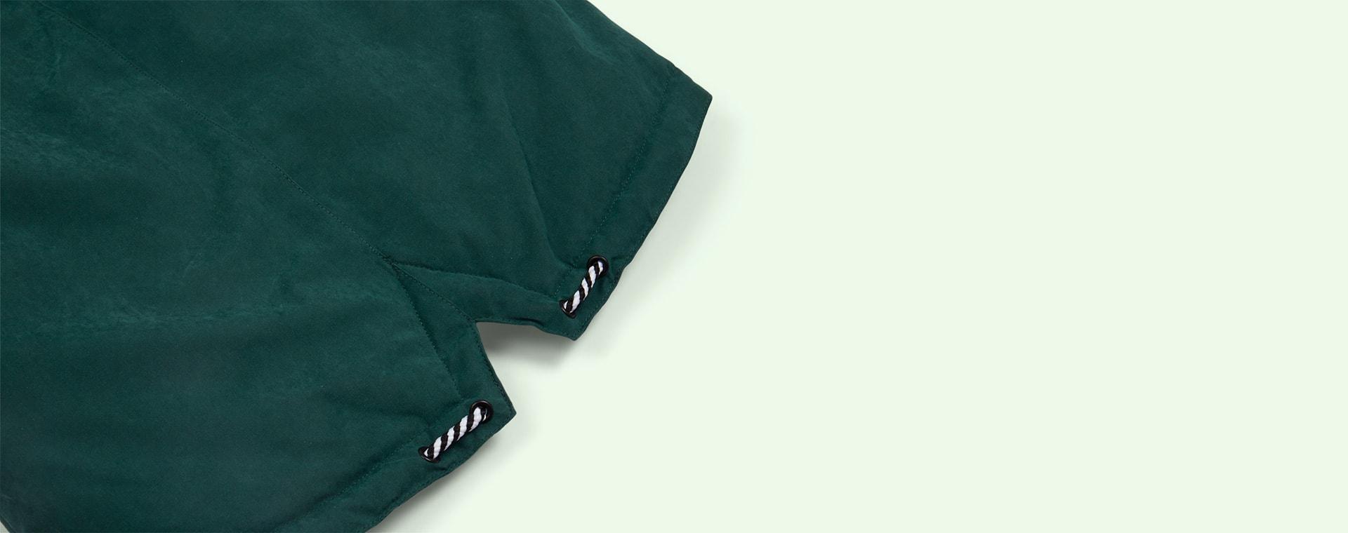 Hunter Green GOSOAKY Blue Tiger Padded Jacket
