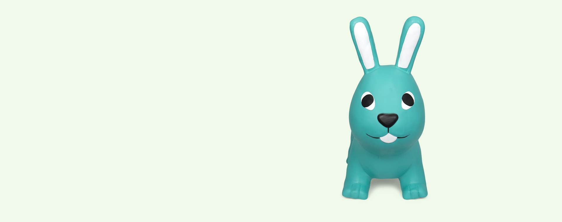 Sea Green Gerardo's Toys My First Jumpy Rabbit