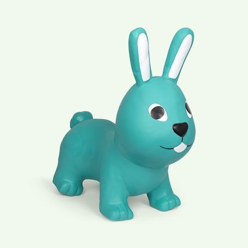 Sea Green Gerardo's Toys My First Jumpy Rabbit