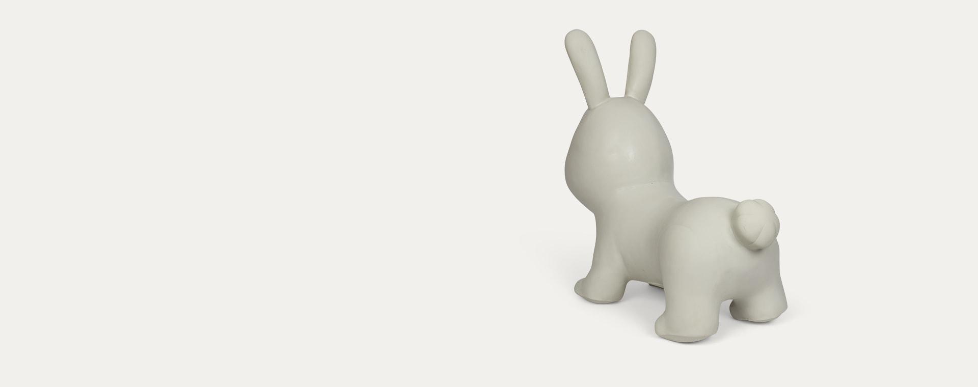 Grey Gerardo's Toys My First Jumpy Rabbit