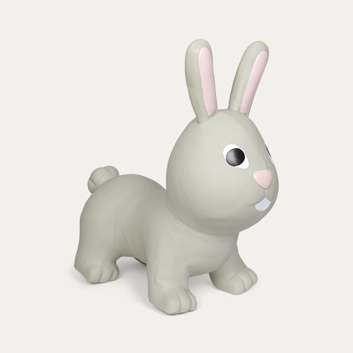 Grey Gerardo's Toys My First Jumpy Rabbit