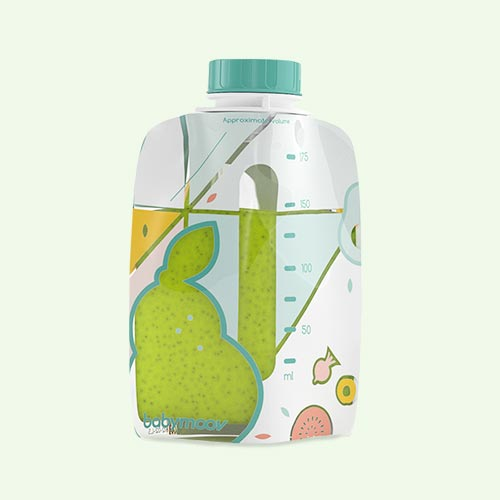 Multi Babymoov Foodii Pouches 20 Pack