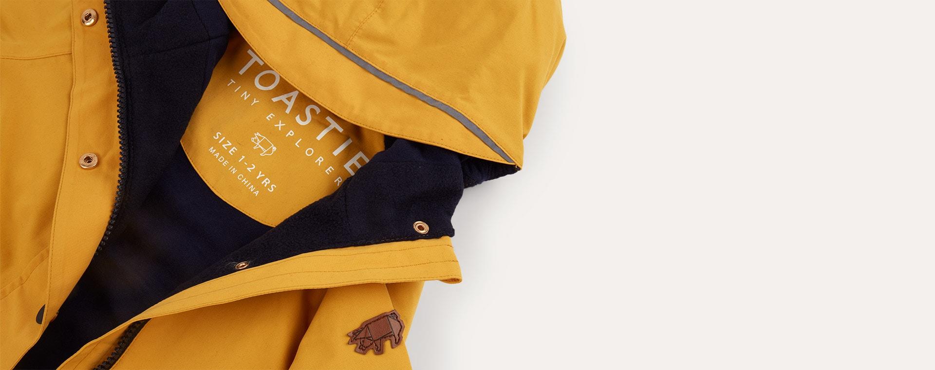 Yellow Töastie Waterproof Raincoat