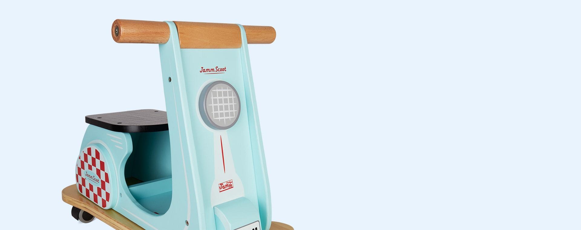 Aqua Indigo Jamm Jamm Scoot