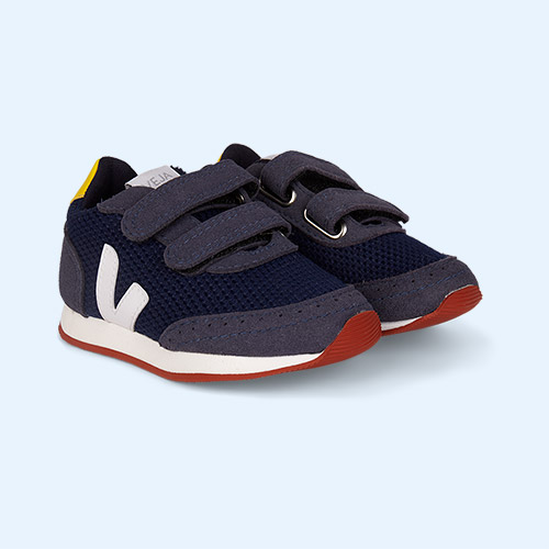 Nautico White gold yellow Veja AW19 Small New Arcade