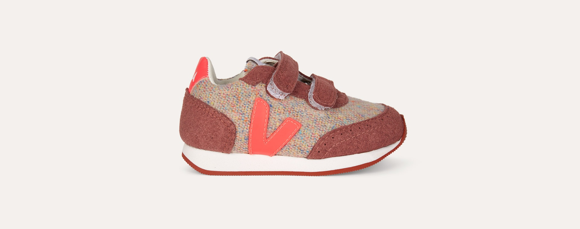 Cloudy Rose Fluo Veja AW19 Small New Arcade