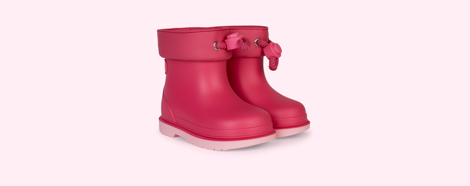 Fuschia igor Bimbi Bicolour Ankle Welly