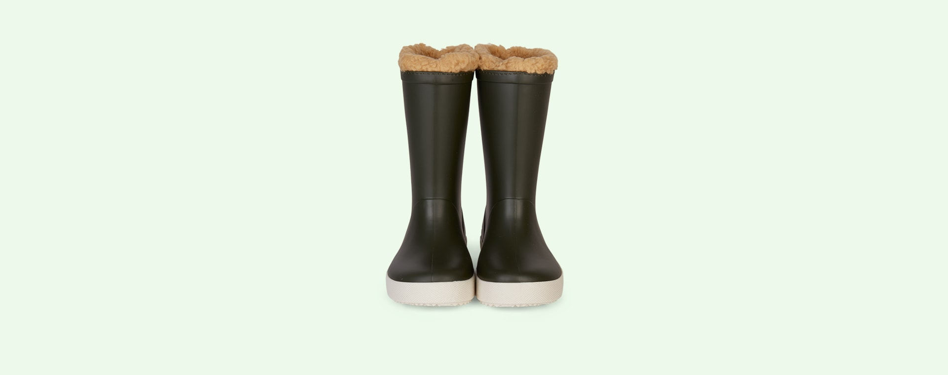 Khaki igor Splash Nautico Lined Wellies
