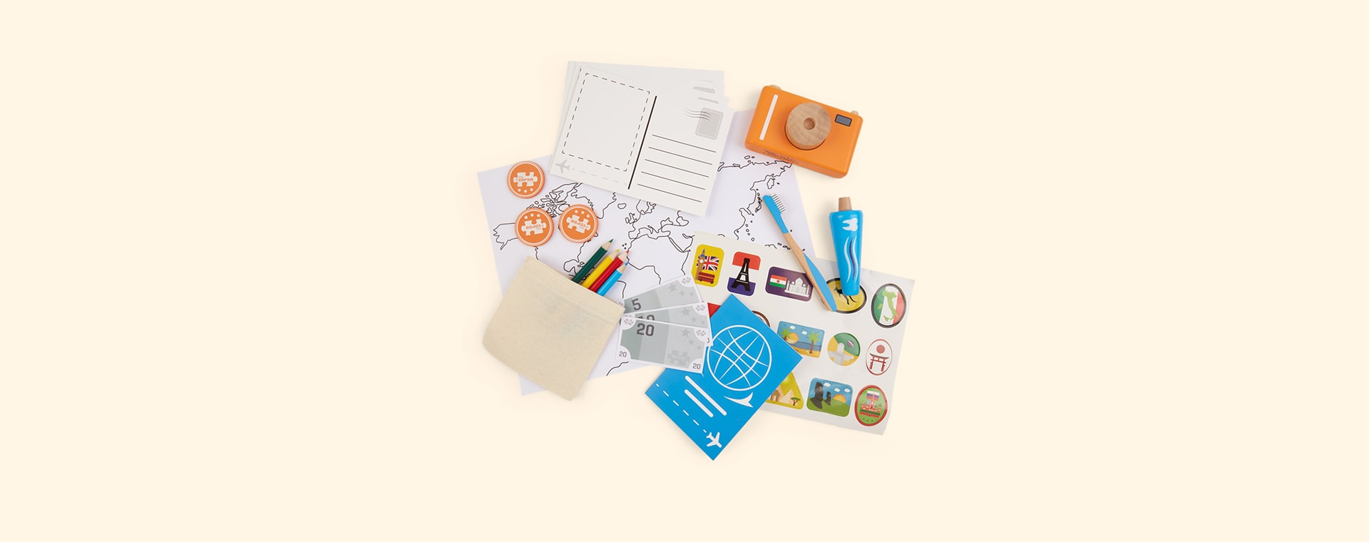 Multi Bigjigs Holiday Kit