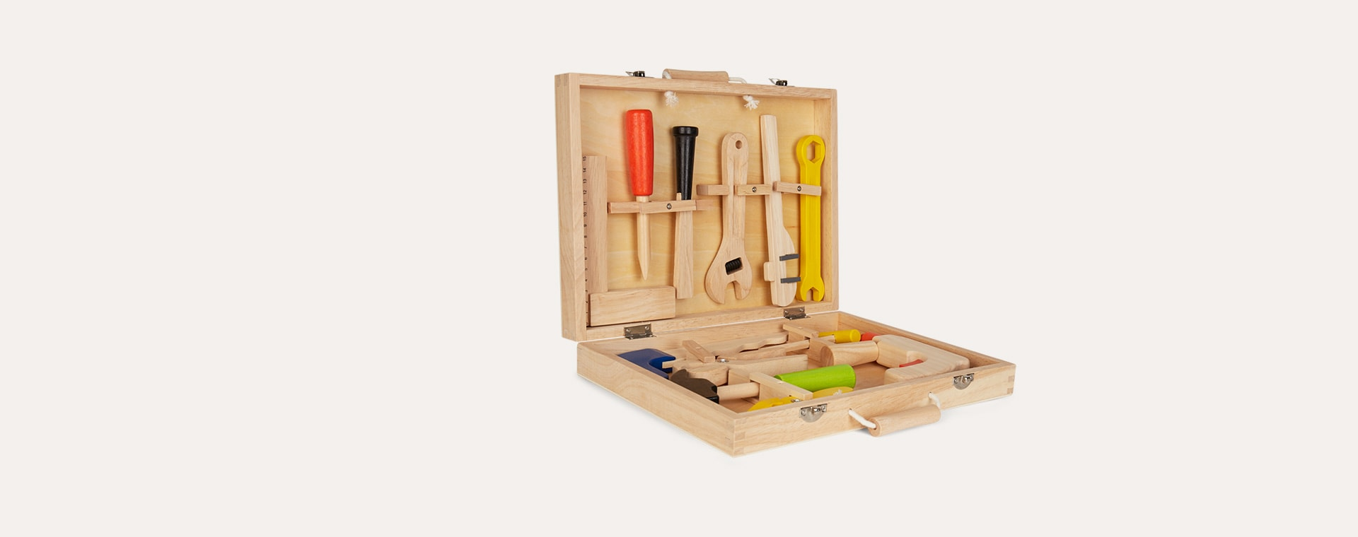 Neutral Bigjigs Carpenter's Tool Box