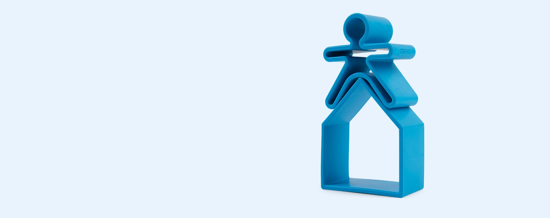 Blue Dëna 2 Piece Set People & House